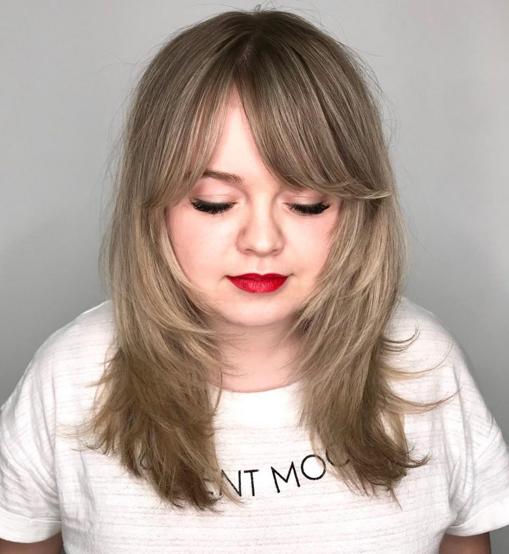 Bangs for Round Face Shapes: 22 Flattering Haircuts