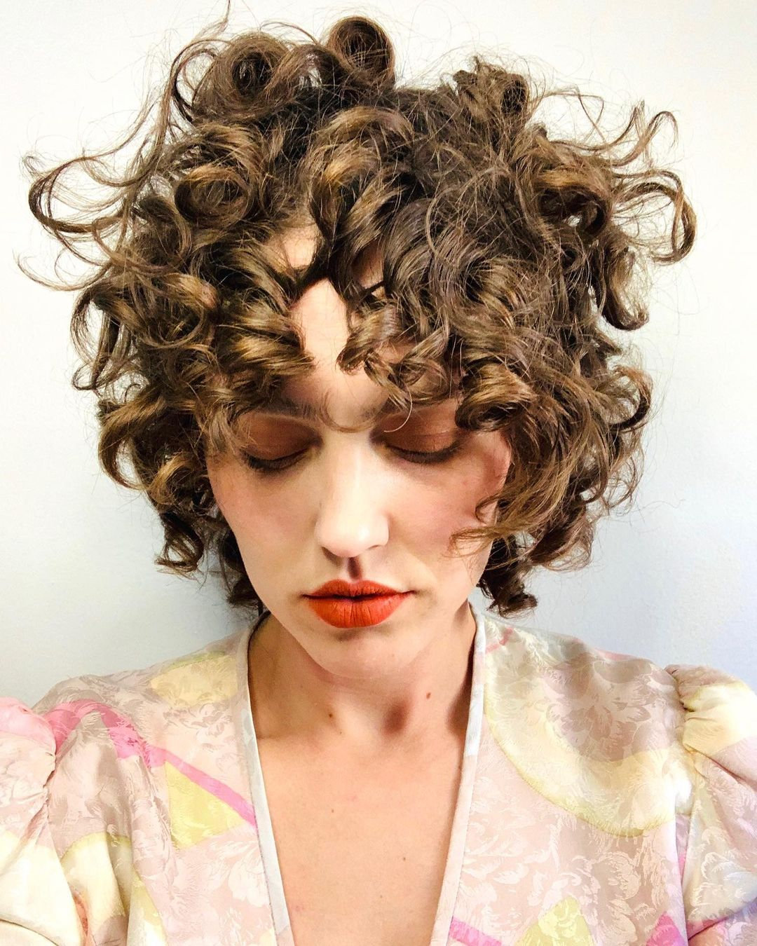 21 Short Curly Hair with Bangs to Fall In Love With