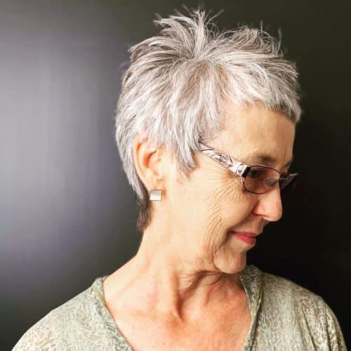 13 Most Flattering Hairstyles for Women Over 50 With Glasses