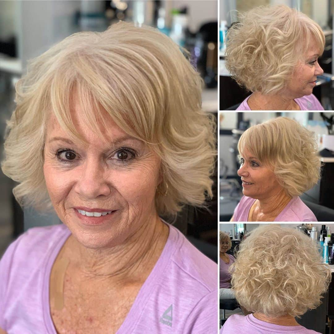 15 Easiest Wash and Wear Haircuts for Women Over 50