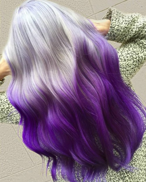 Silver Ombre Hair: This Years 18 Hottest Color Combos