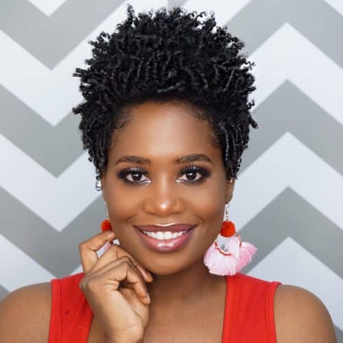 19 Short Natural Hairstyles + Haircuts for Black Women with Short Hair