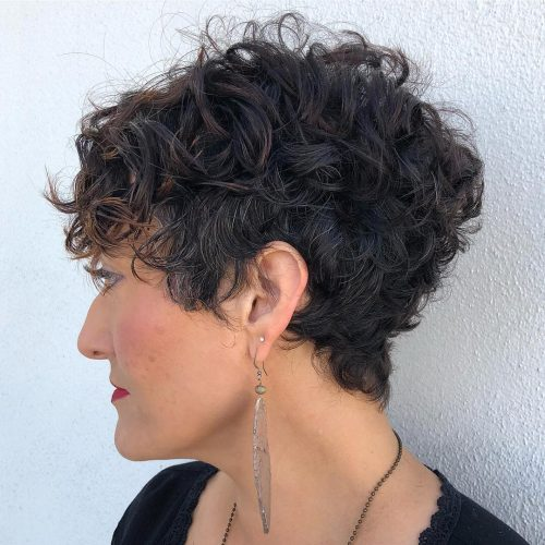 21 Cutest Curly Pixie Cuts for Curly Haired Girls