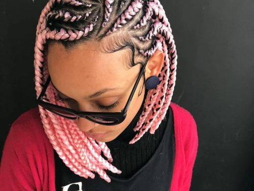 19 Hottest Ghana Braids You'll See Right Now