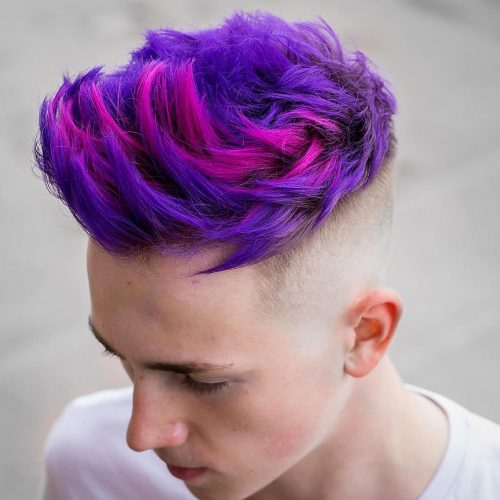 30 Coolest Men's Hair Color Ideas to Try This Season