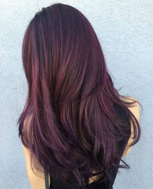 24 Jaw-Dropping Dark Burgundy Hair Colors You Have to See