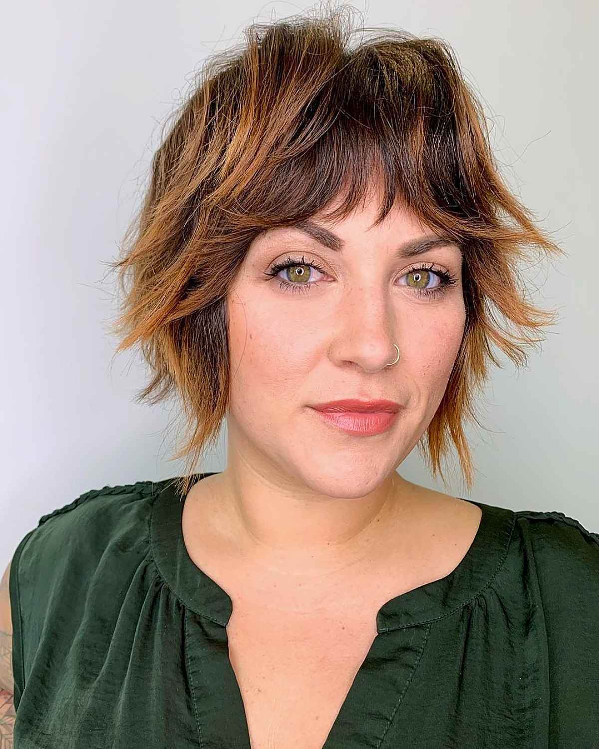26 Best Ways to Wear Curtain Bangs with Short Hair