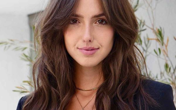 26 Face-Framing Layered Hair with Curtain Bangs Hairstyle Ideas